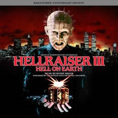 HELLRAISER III – HELL ON EARTH Original Soundtrack (2LP/RED W/ BLACK SMOKE VINYL) Vinyl Record