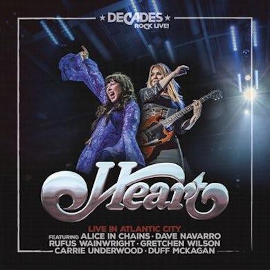 Heart Live In Atlantic City CD