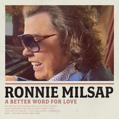 Ronnie Milsap A Better Word For Love CD