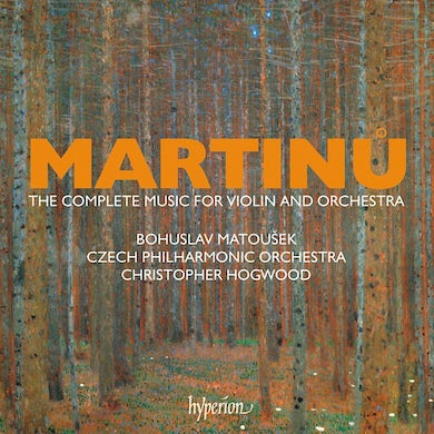 Christopher Hogwood Martinu: The Complete Music For Violin And Orchestra CD