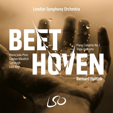 Beethoven: Piano Concerto No. 2/Triple Concerto CD