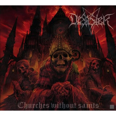 Desaster Churches Without Saints CD