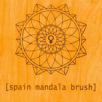 Spain Mandala Brush CD