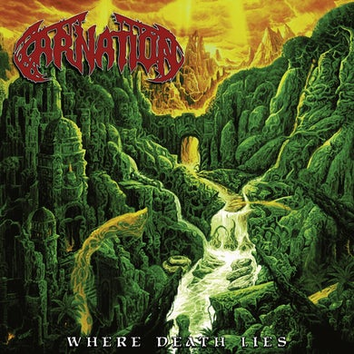 Carnation Where Death Lies CD