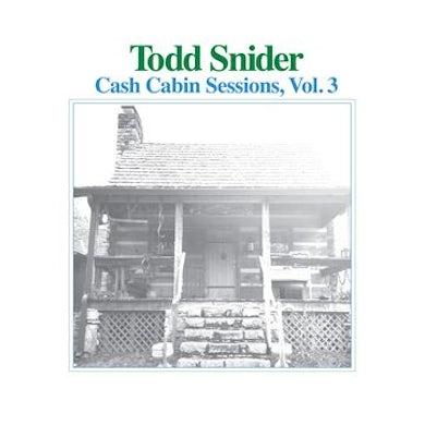 Todd Snider Cash Cabin Sessions, Vol. 3 CD