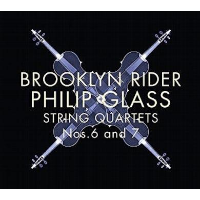 Glass: String Quartets Nos. 6 & 7 CD