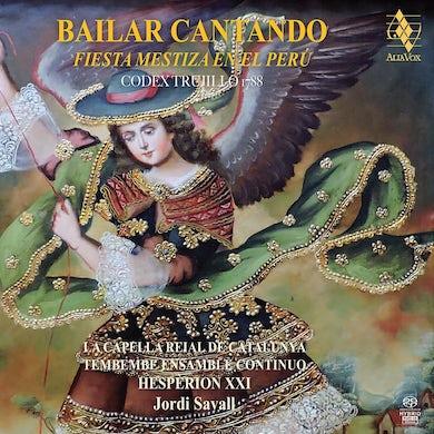 Jordi Savall Bailar Cantando: Fiesta mestiza En El Peru CD