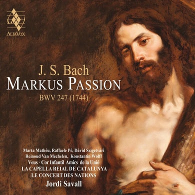 Bach: St. Mark Passion CD