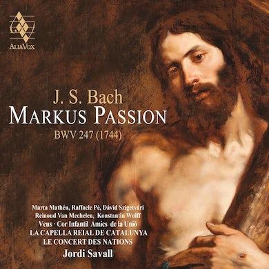 Jordi Savall Bach: St. Mark Passion CD