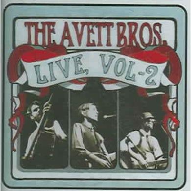 The Avett Brothers Live, Vol 2 CD