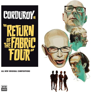 Corduroy Return of the fabric four Vinyl Record