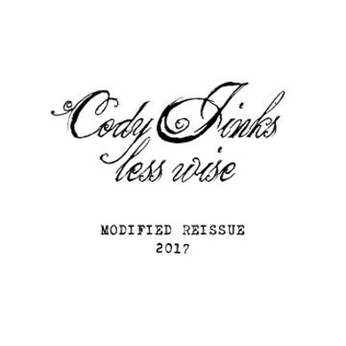 Cody Jinks Less Wise Modified Vinyl Record