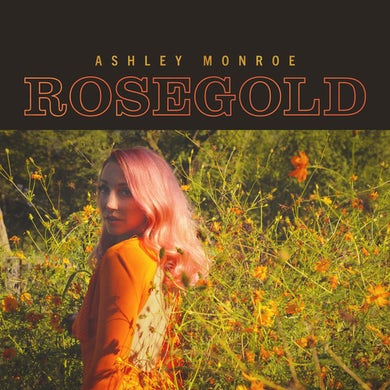 Rosegold Vinyl Record