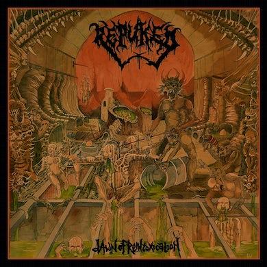 DAWN OF REINTOXICATION (TRANSPARENT GREEN VINYL) Vinyl Record