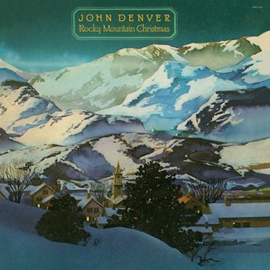 John Denver Rocky Mountain Christmas Vinyl Record