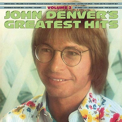 John Denver Greatest Hits Volume Two (180 Gram Trans) Vinyl Record