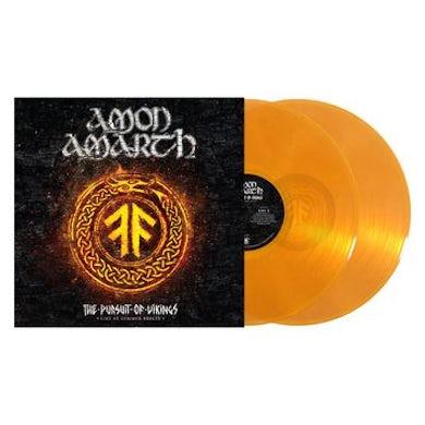 Amon Amarth Pursuit Of Vikings: Live At Summer Breeze Vinyl Record