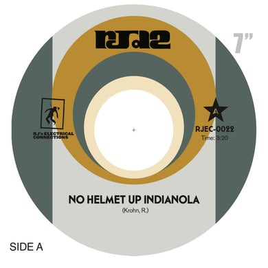 Rjd2 No helmet up indianola Vinyl Record