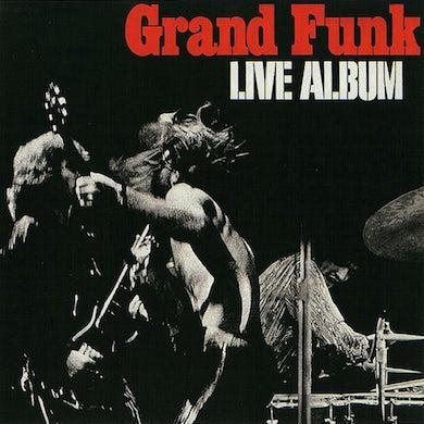 Grand Funk Railroad Live Album (180 Gram Translucent Red Aud Vinyl Record
