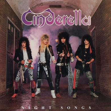 Cinderella Night Songs (180 Gram Translucent Red Au Vinyl Record