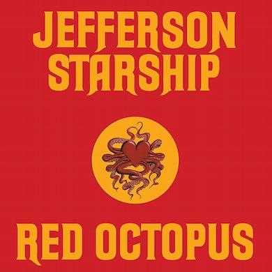 Jefferson Starship Red Octopus (180 Gram Translucent Red Au Vinyl Record