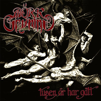 MORK GRYNING Tusen Ar Har Gatt? Vinyl Record