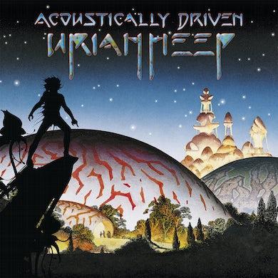 Acoustically Driven Vinyl Record
