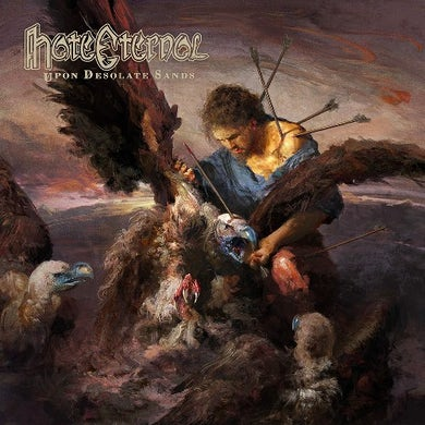 Hate Eternal Upon Desolate Sands (Ltd. Sky Blue Vinyl Vinyl Record