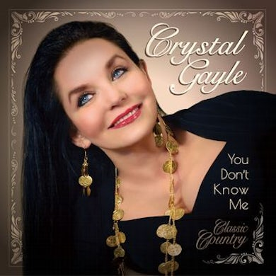 Crystal Gayle You Don't Know Me Vinyl Record