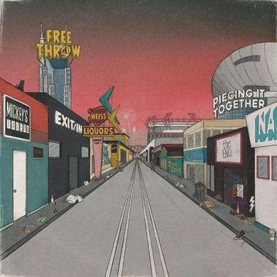 Free Throw PIECING IT TOGETHER Vinyl Record