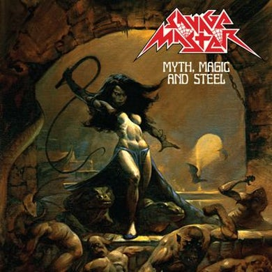 SAVAGE MASTER Myth, Magic And Steel Vinyl Record