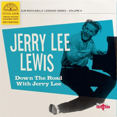 Jerry Lee Lewis Down The Road With Jerry Lee (Ltd. Cyan Vinyl Record