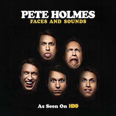 Pete Holmes Faces And Sounds Vinyl Record