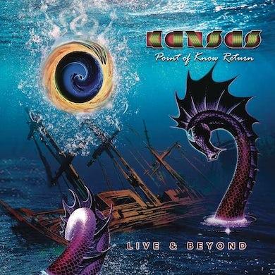 Kansas Point Of Know Return Live & Beyond Vinyl Record