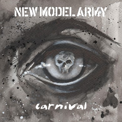 New Model Army Carnival (Redux)   Limited White 2 Lp Vinyl Record