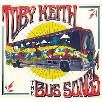 Toby Keith Bus Songs CD
