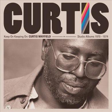 Keep on Keeping On: Curtis Mayfield Studio Albums 1970-1974 CD