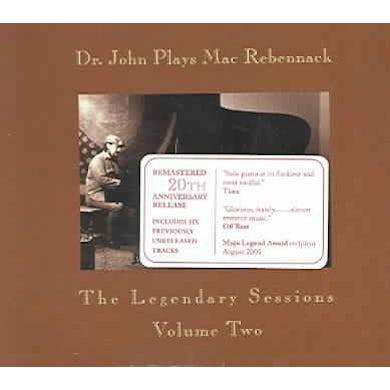 Dr. John Plays Mac Rebennack: The Legendary Sessions Volume Two CD