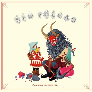 Klo Pelgag L'alchimie Des Monstres (Red Vinyl) Vinyl Record