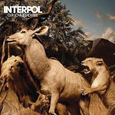 Interpol Our Love To Admire (Blue Vinyl) Vinyl Record
