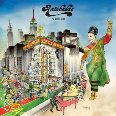 Antibalas Fu chronicles Vinyl Record