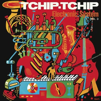TCHIP TCHIP (VOL. 3) (LIMITED ORANGE VINYL EDITION) Vinyl Record