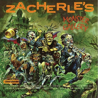 Zacherle's Monster Gallery (Limited Clea Vinyl Record