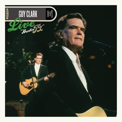 Guy Clark Live From Austin, TX Vinyl Record