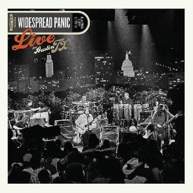 Widespread Panic Live From Austin  Tx (Jack O'lantern Vin Vinyl Record