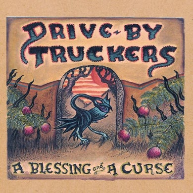 Drive-By Truckers A Blessing And A Curse (Clear With Purpl Vinyl Record