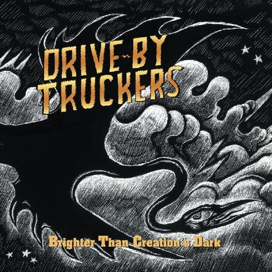 Drive-By Truckers Brighter Than Creation's Dark (Clear Wit Vinyl Record