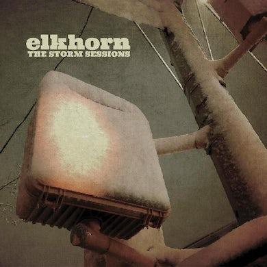 Elkhorn STORM SESSIONS (DL CARD/ELECTRIC BLUE VINYL) (I) Vinyl Record