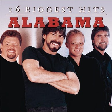 Alabama 16 Biggest Hits CD
