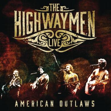 Highwaymen Live: American Outlaws [CD/Blu-Ray] [Slipcase] CD
